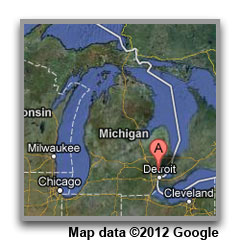 Michigan Office Map